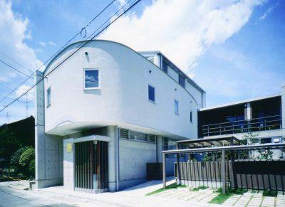 押木田の診療所+住宅